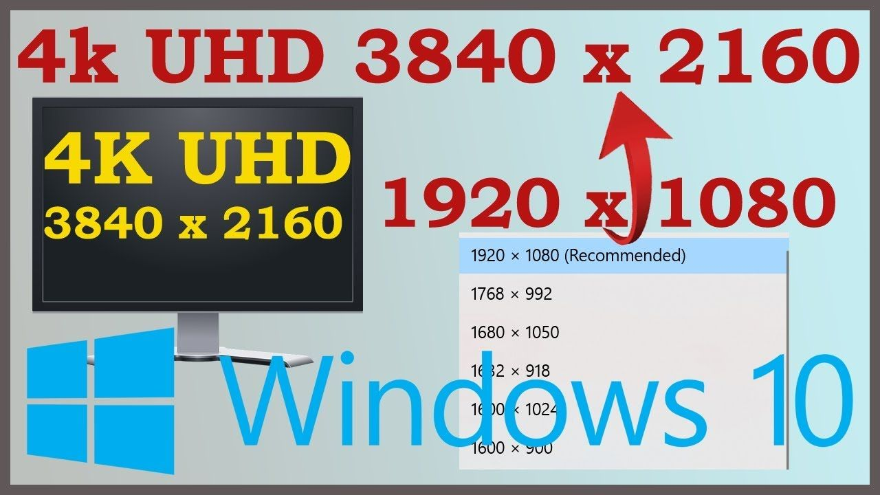 Force 4k Resolution Windows 10 No 4k 3840 X 2160 Resolution Fix Windows 10 Graphic Card Display Resolution