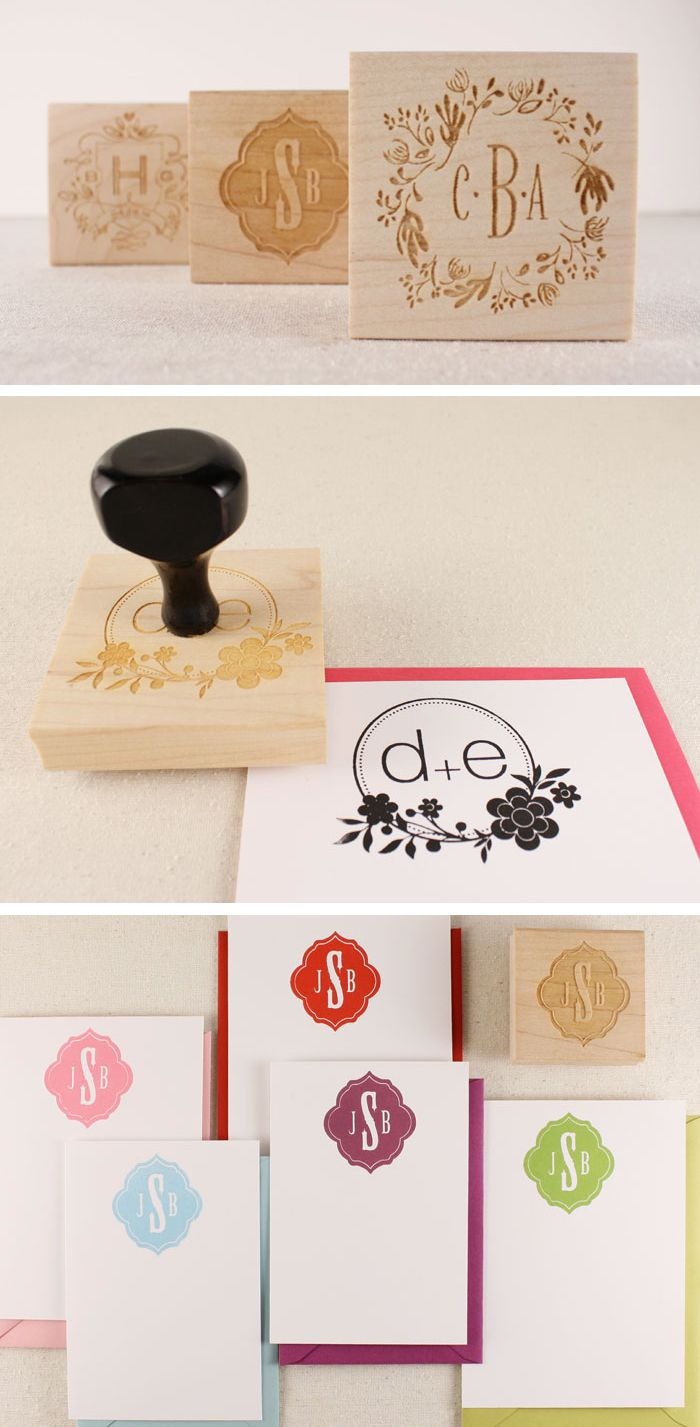 Custom Wedding Stamps Much Less Expensive Than Invitations Can Use For Thank You