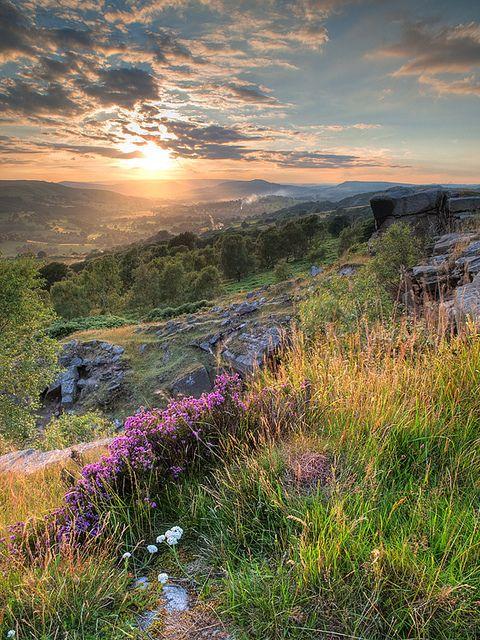Hope Valley, Stanage, Derbyshire, England
