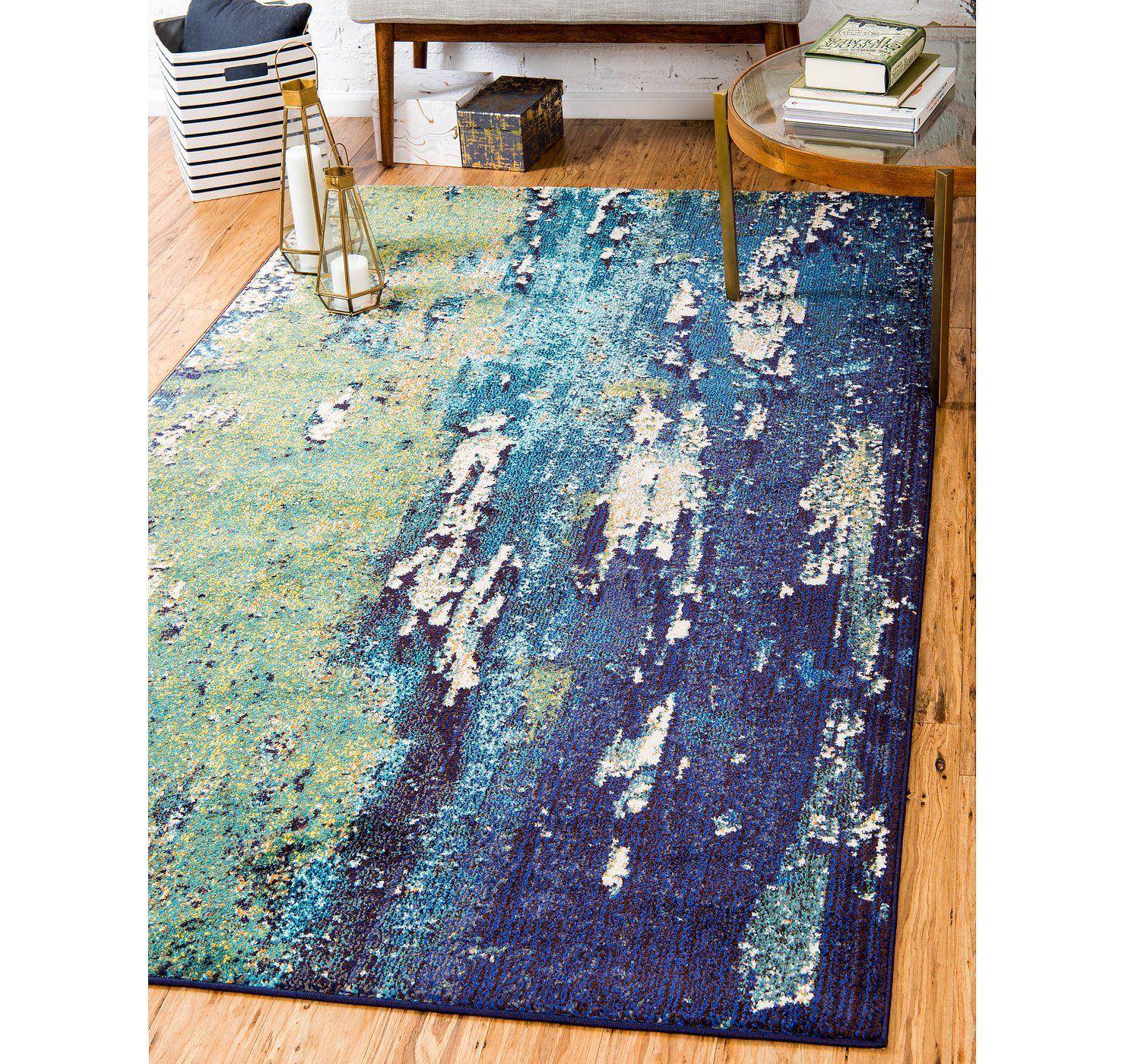 3x5 Rugs | eSaleRugs - Page 31 | Navy blue area rug, Blue ...