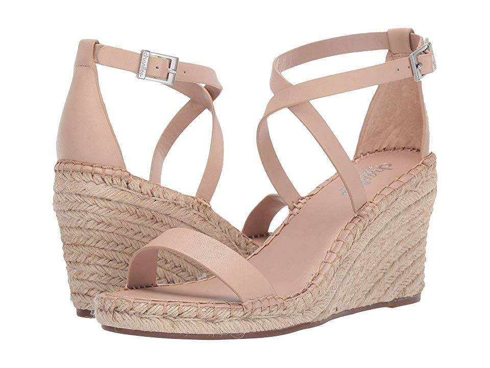 24f608f0805 Charles by Charles David Nola Wedge Sandal Women's Wedge Shoes Nude ...