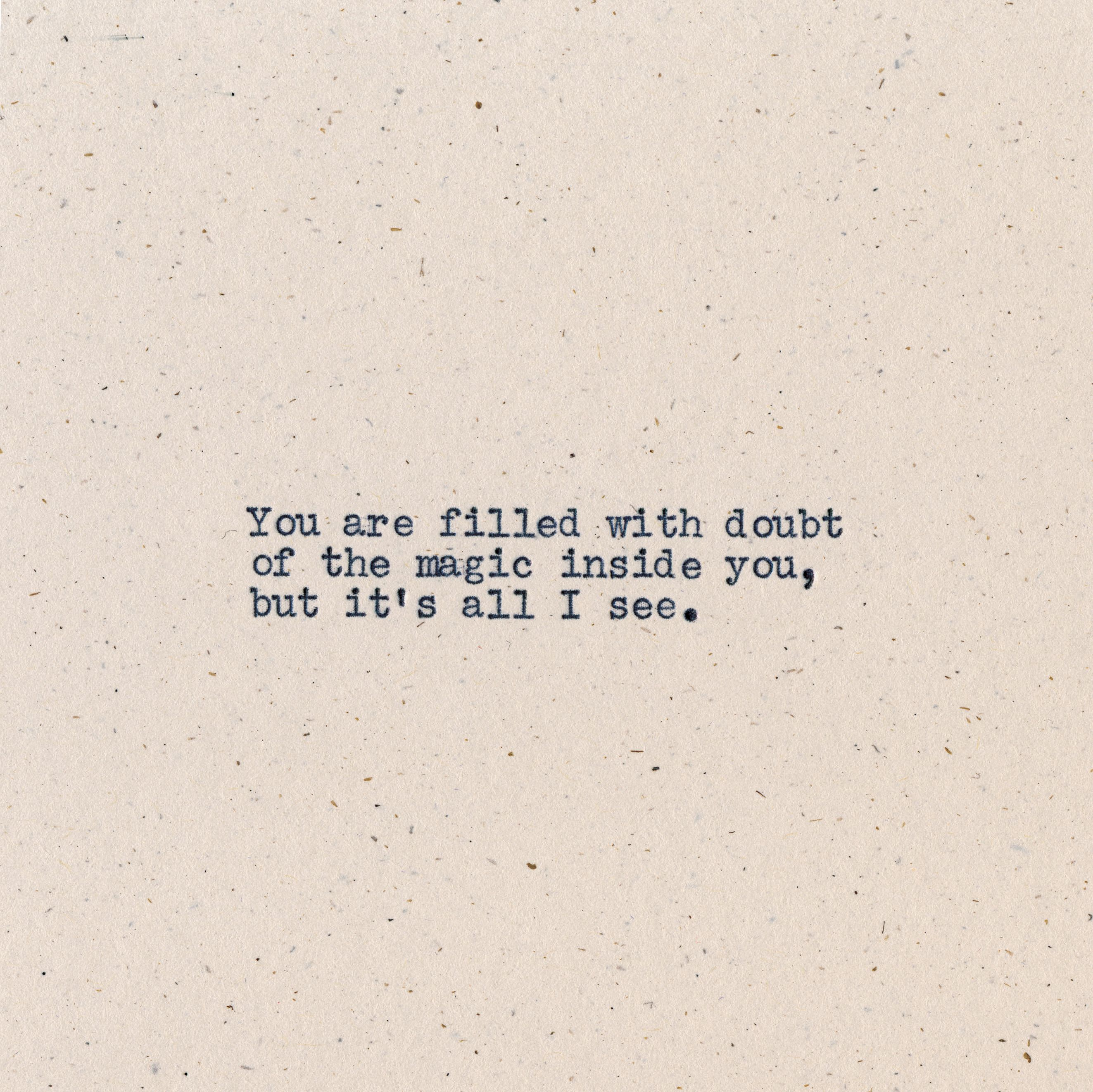 "7 Haiku From Tyler Knott Gregson's ""All The Words Are Yours"" - mindbodygreen.com"