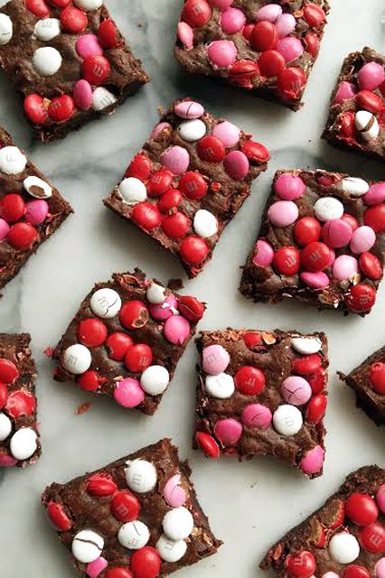 These Easy Brownies Get A Valentine Inspired Twist