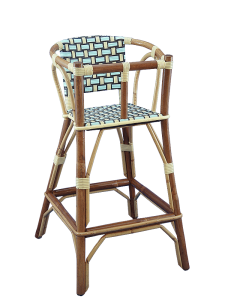 Kids High Chair Available In 30 Weaves Pick Your Colors From Our Colors Chart Of 30 Colors We Only Weave Our Chairs With Ri Chaise Haute Chaise Chaise Rotin