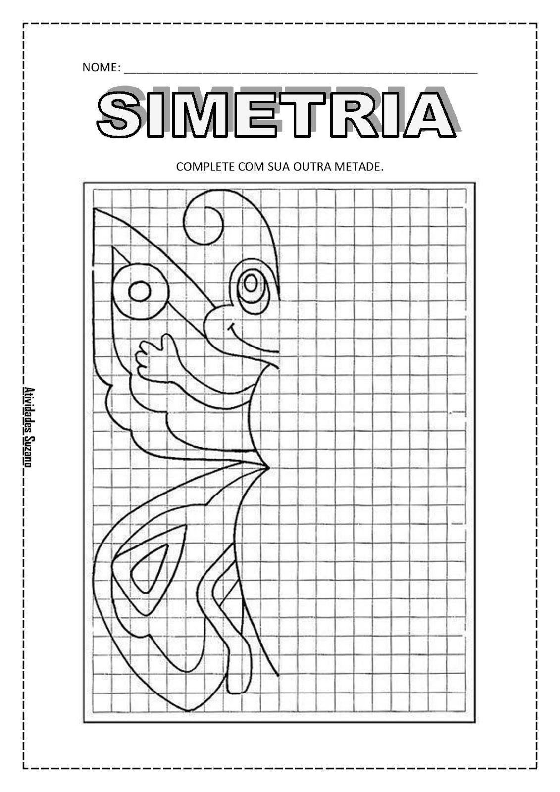 Pin De Maria Mogrovejo Em Artes De Simetris Com Imagens