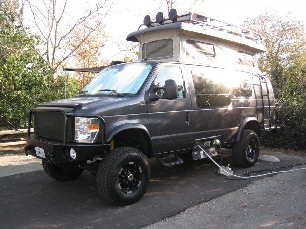 Sportsmobile Pop Top 4x4 Van Van Car Camper