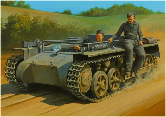 Panzer 1 Ausf. A converted to tractor