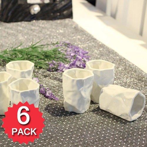 Set of 6 - Paper Bag Cups