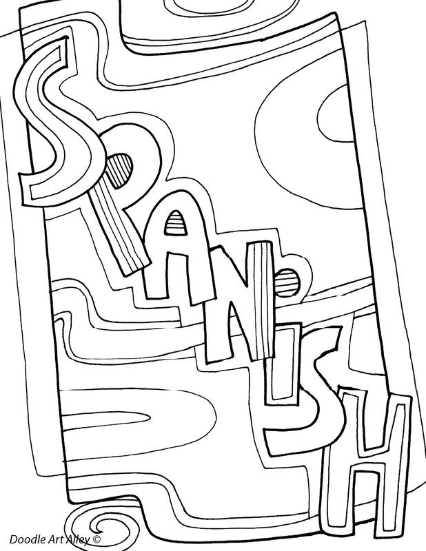 Subject Coloring Pages