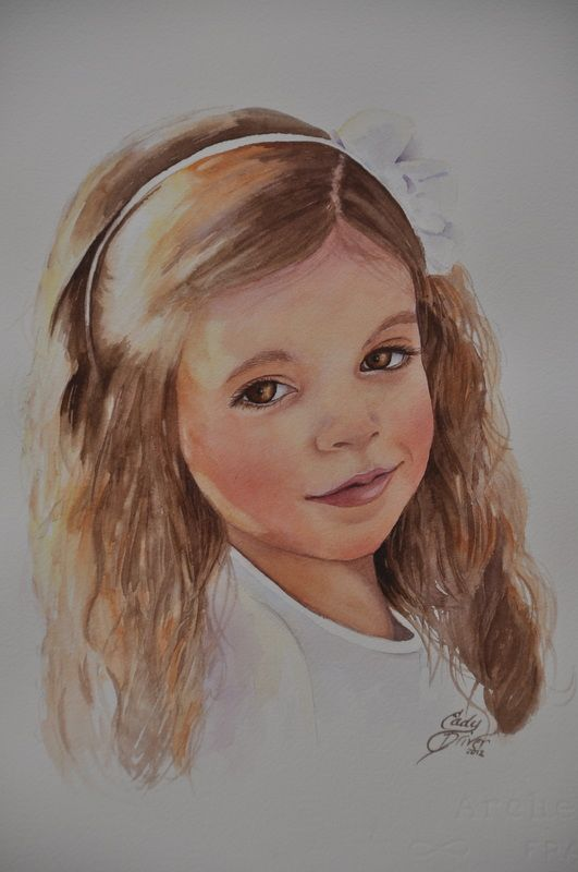 Cady Driver Watercolor