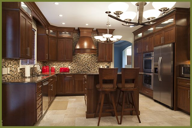 Shiloh Cabinetry - All Wood Kitchen