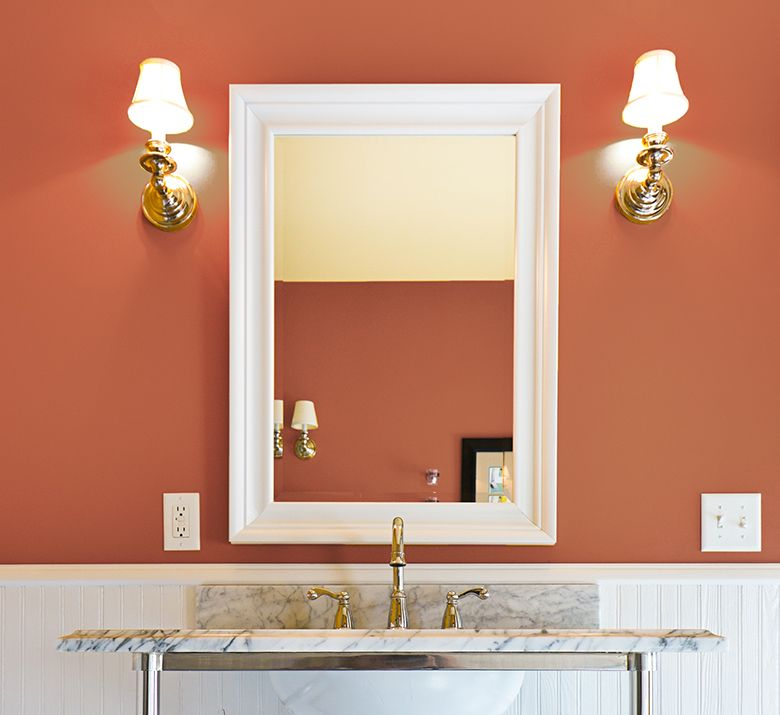 rev up your morning with a color boost in the bathroom on paint colors for professional office id=14445