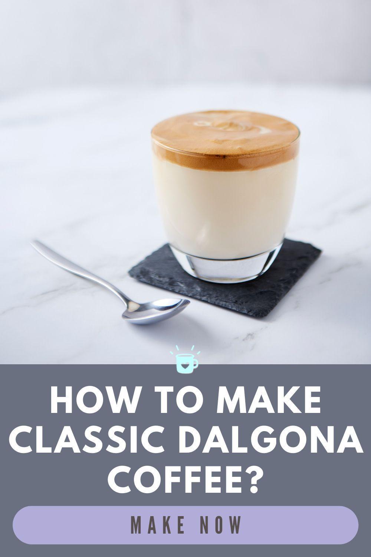 different ways to make dalgona coffee