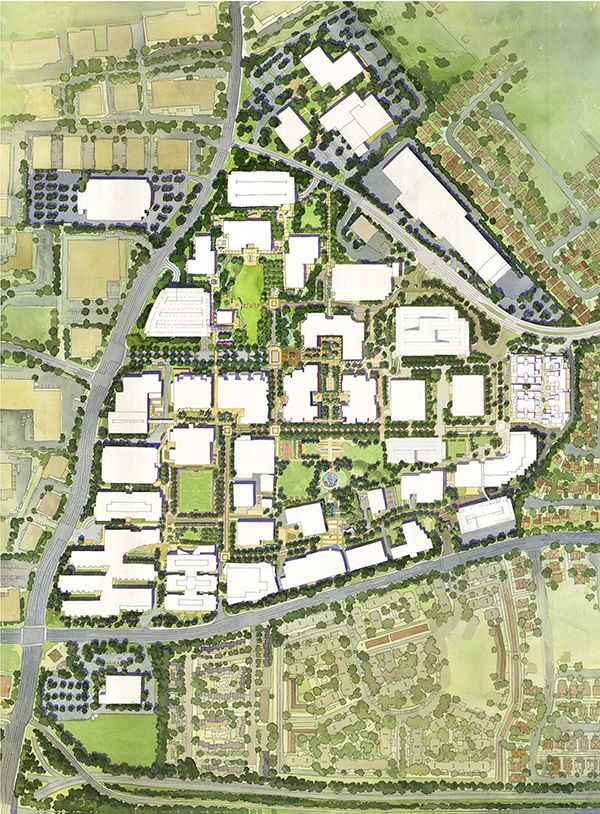 Amgen Center Thousand Oak Master Plan and Site Improvements