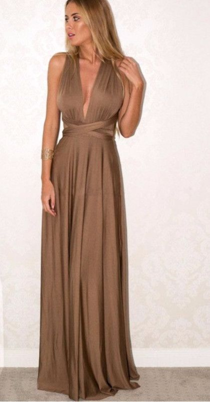 f67f4ad6e0d Stylish Open Back Women Long Maxi Dress