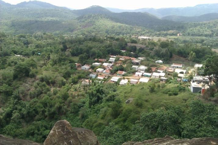 B R hills is a picturesque spot 190 km away from Bangalore , in the district of Chamrajanagar, on the Karnataka- Tamil Nadu border,. It is  famous for the local deity ,Lord Ranganatha Swamy temple situated on the highest peak of the Hill range.