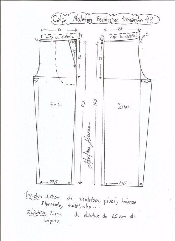 Patrones de costura para hacer | patrones | Costura, Pantalones y Ropa
