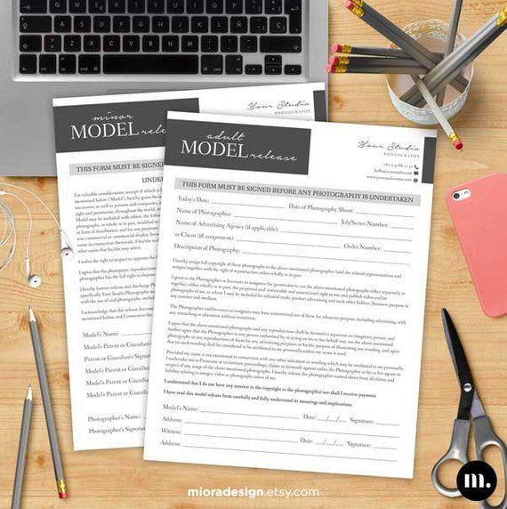 adult u0026minor model release form