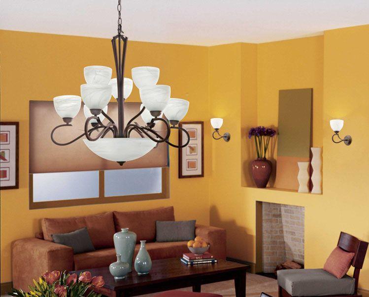 Estas lámparas colgantes quedan increíbles en salas o comedores ...