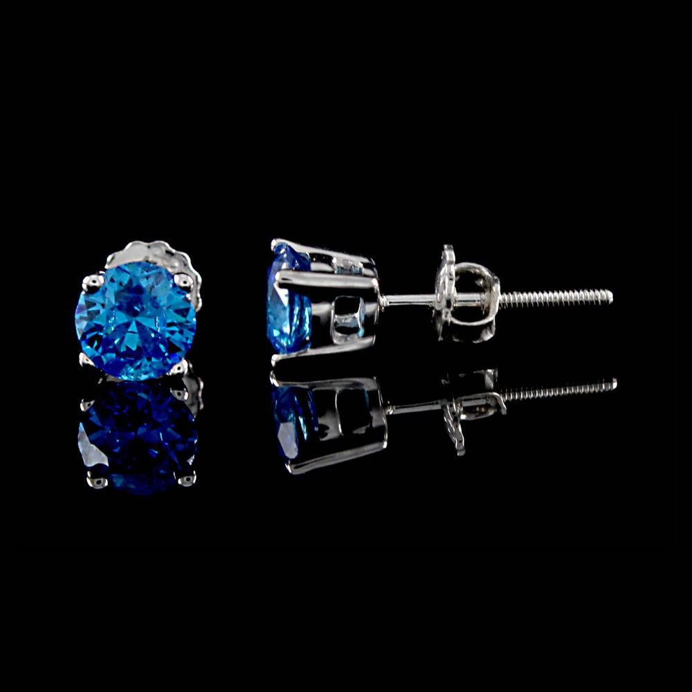 in jewelry clear sf men cz style az sterling sapphire view bling invisible round for stud silver basket design all set women mens earrings every cut