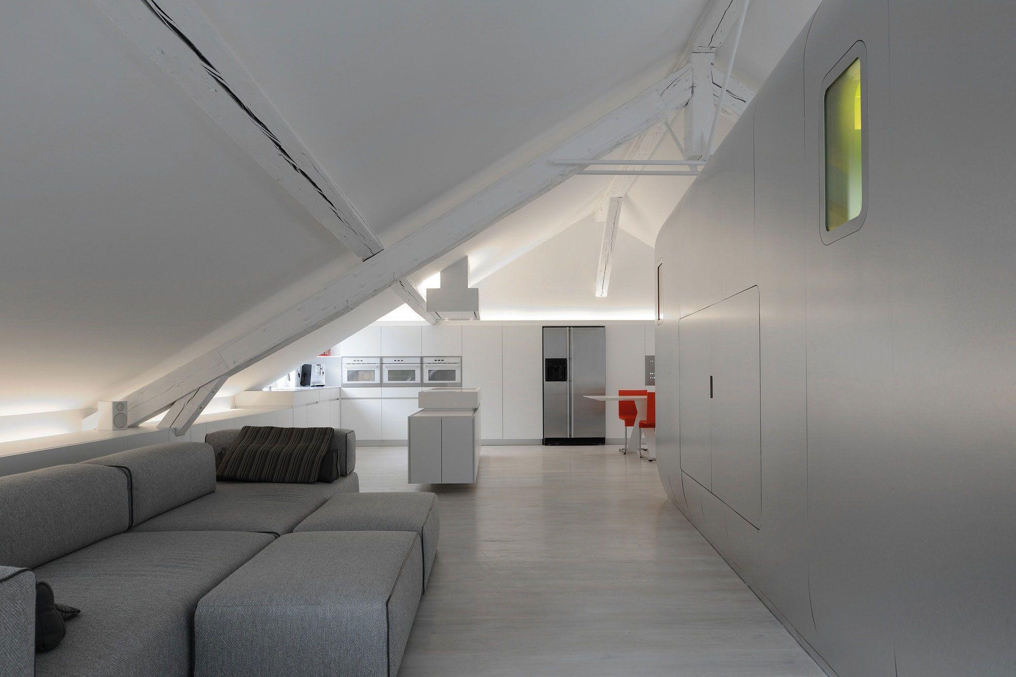 Futuristisch Anmutende Designer Wohnung Bozhinovski