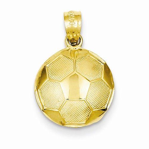 Soccer ball pendant in 14k yellow gold ref qg c3579 goldex fine soccer ball pendant in 14k yellow gold ref qg c3579 goldex fine mozeypictures Image collections