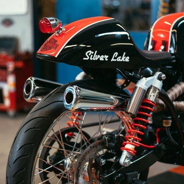 Silver Lake Harley-Davidson's stunning old racer, based on a ...