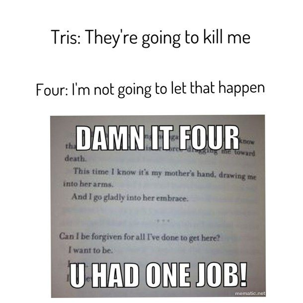Funny Book Quotes Fascinating Funny Quotes From Divergent Book QuotesGram Everything And