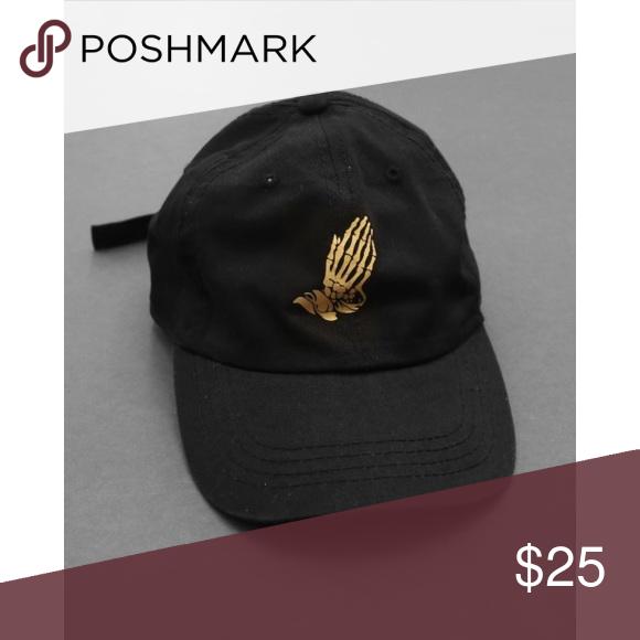 gold prayer hands price is firm Brandy Melville Accessories Hats