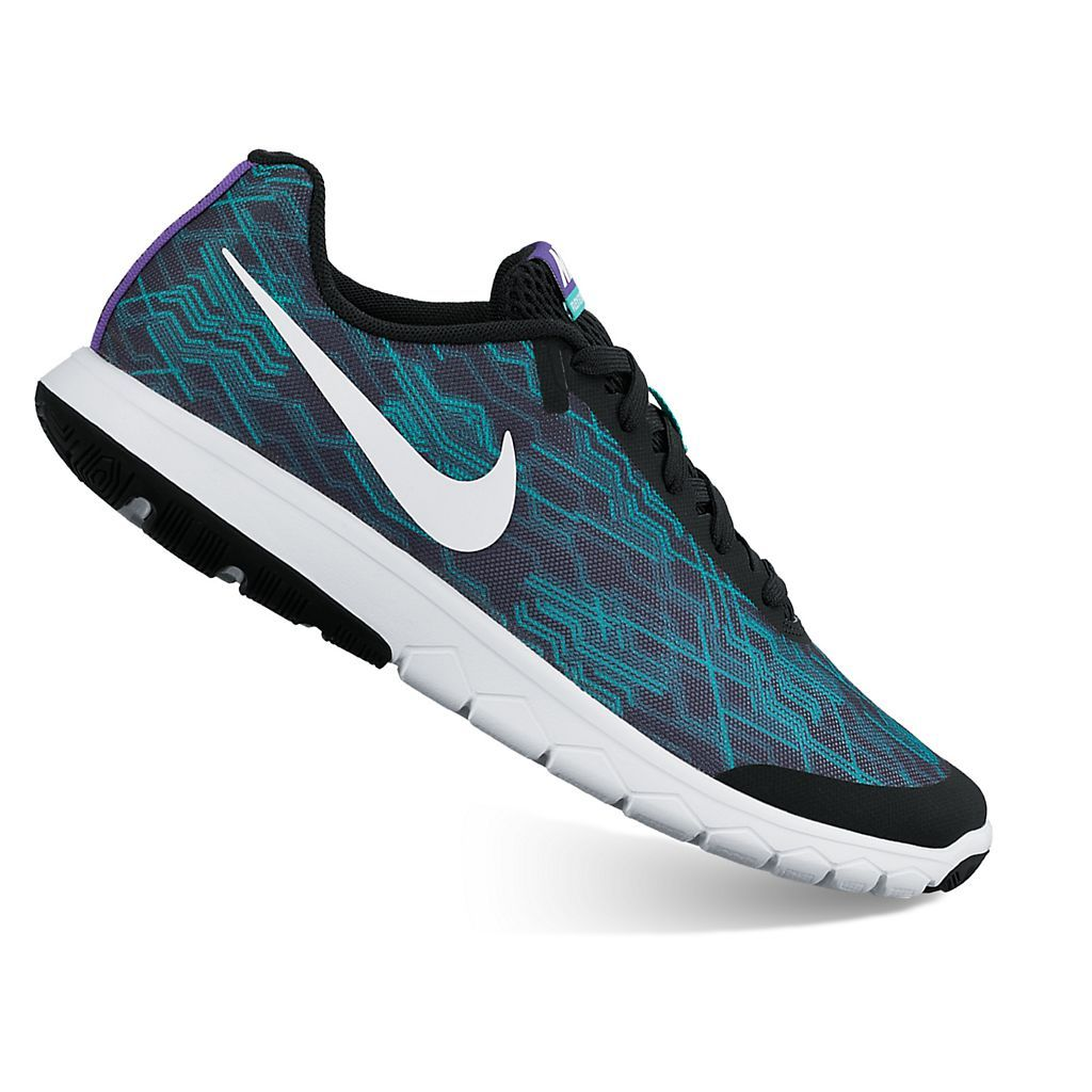 Nike Flex Experience 5 Womens Running Shoes Grey/Blue RE