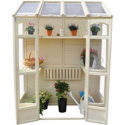 Victorian Tall Wall Greenhouse at Homebase -- Be inspired and make ...