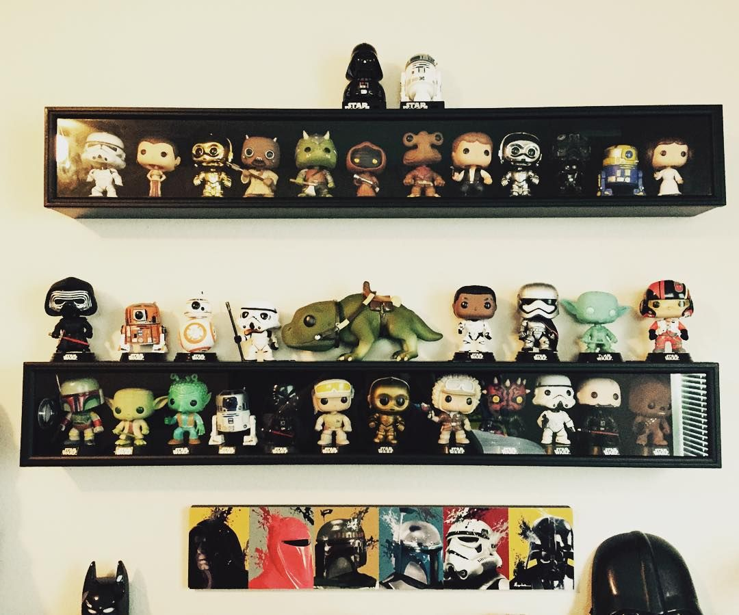 das peferkte regal f r alle star wars verr ckten art n sculpture in 2018 pinterest funko pop. Black Bedroom Furniture Sets. Home Design Ideas