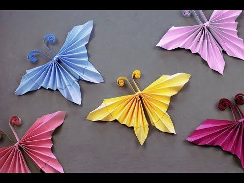 Photo of Easy Origami Butterfly | How to make a paper Butterfly?