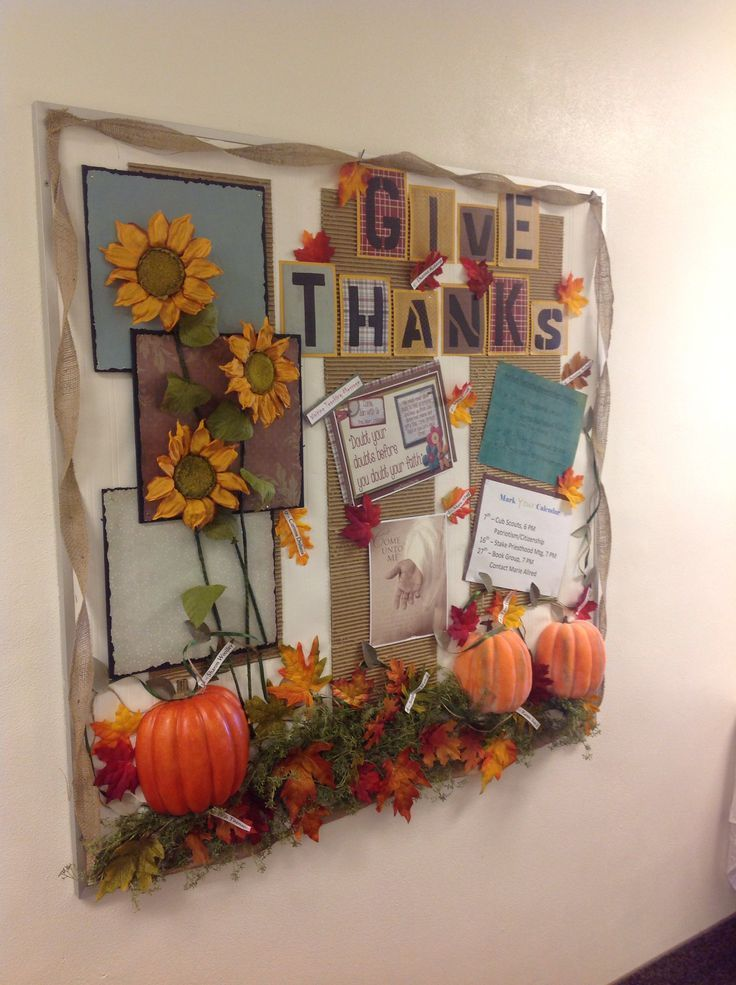 attractive Thanksgiving Church Bulletin Board Ideas Part - 4: november church bulletin boards - Google Search