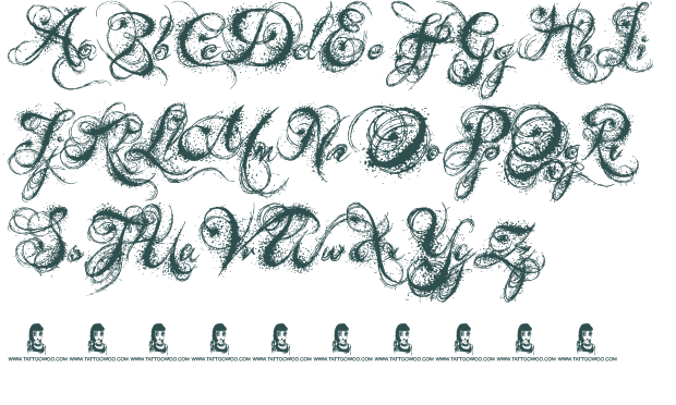 Fancy Old English Fonts   Romancing the Script in 2019   Tattoo
