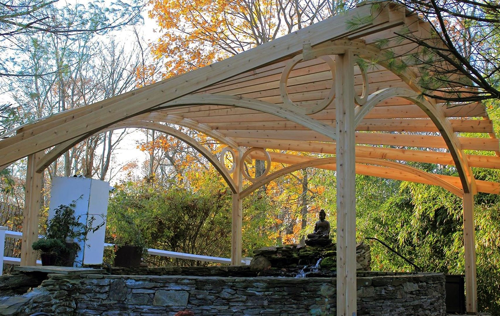 Pin by jean eisenstat on Places to Visit Pergola, Wooden
