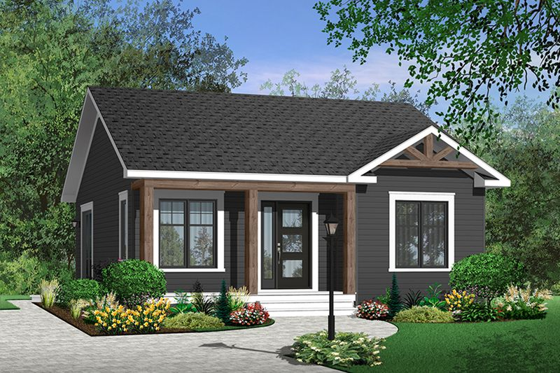 Cottage Style House Plan 2 Beds 1 Baths 835 Sq Ft Plan 23 2198 Cottage Style House Plans Bungalow House Plans Cottage Style Homes
