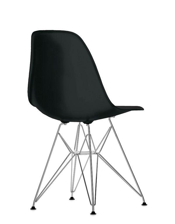 CASANOVA Møbler — Eames Plastic Chair (DSR) - Sort