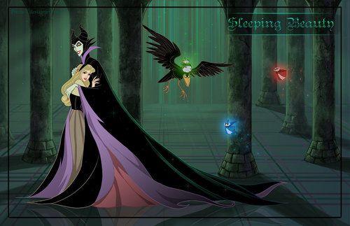 Maleficent Sleeping Beauty Maleficent X Princess Aurora