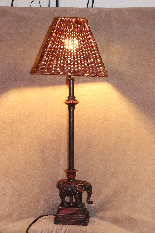 Tall 30 Elephant Table Lamp Https Etsy Me 2gupnqz Housewares Lighting Brown Entryway Ceramic Tall Elephant Table Lamp Vintage Table Lamp Elephant Lamp