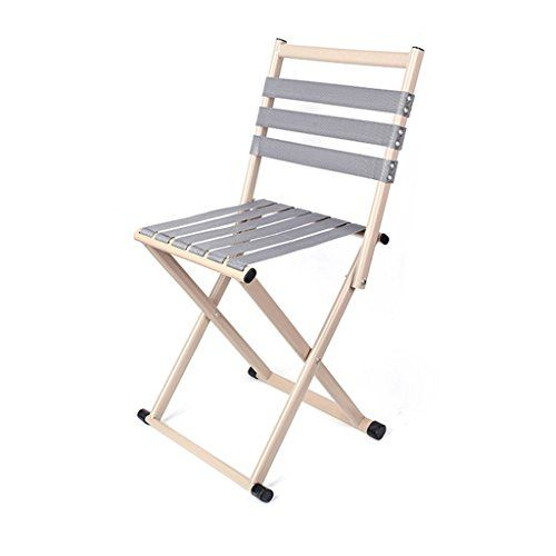 Magnificent Folding Camping Stool With Backrest Portable Chair For Ibusinesslaw Wood Chair Design Ideas Ibusinesslaworg