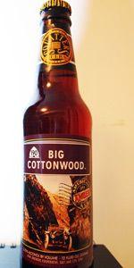 Squatters Big Cottonwood Beer Beer Bottle Cottonwood