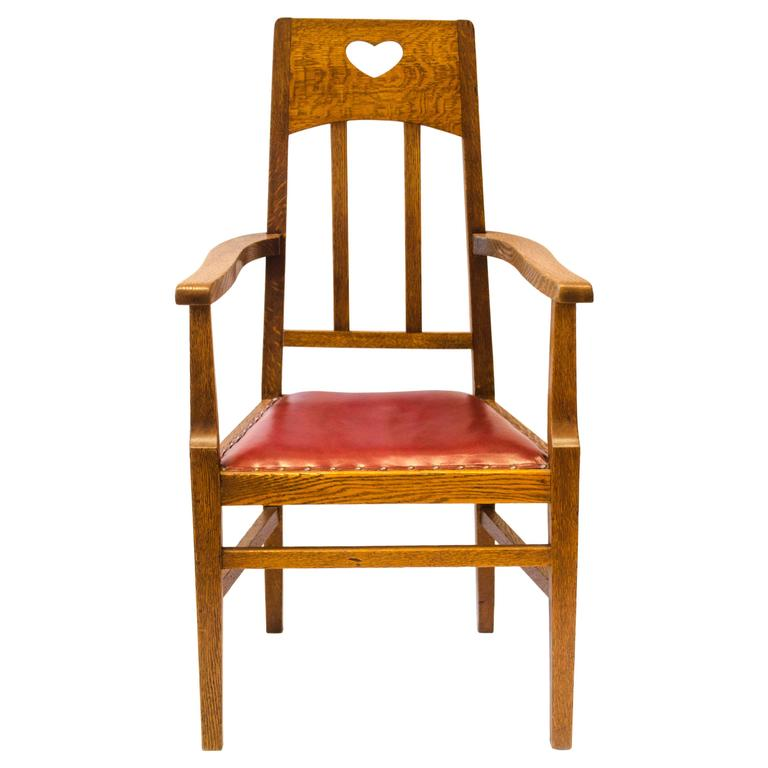 Arts Crafts Oak Armchair By Jas Shoolbred 1 Armchair Arts