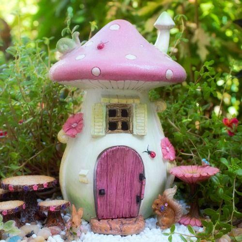 Gnome Garden: Miniature Fairy Garden House