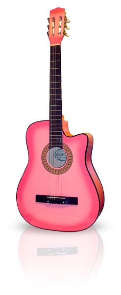 Pink Guitar omg want