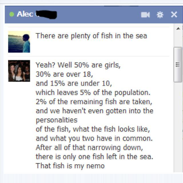 Finding nemo. :)))) this is amazing