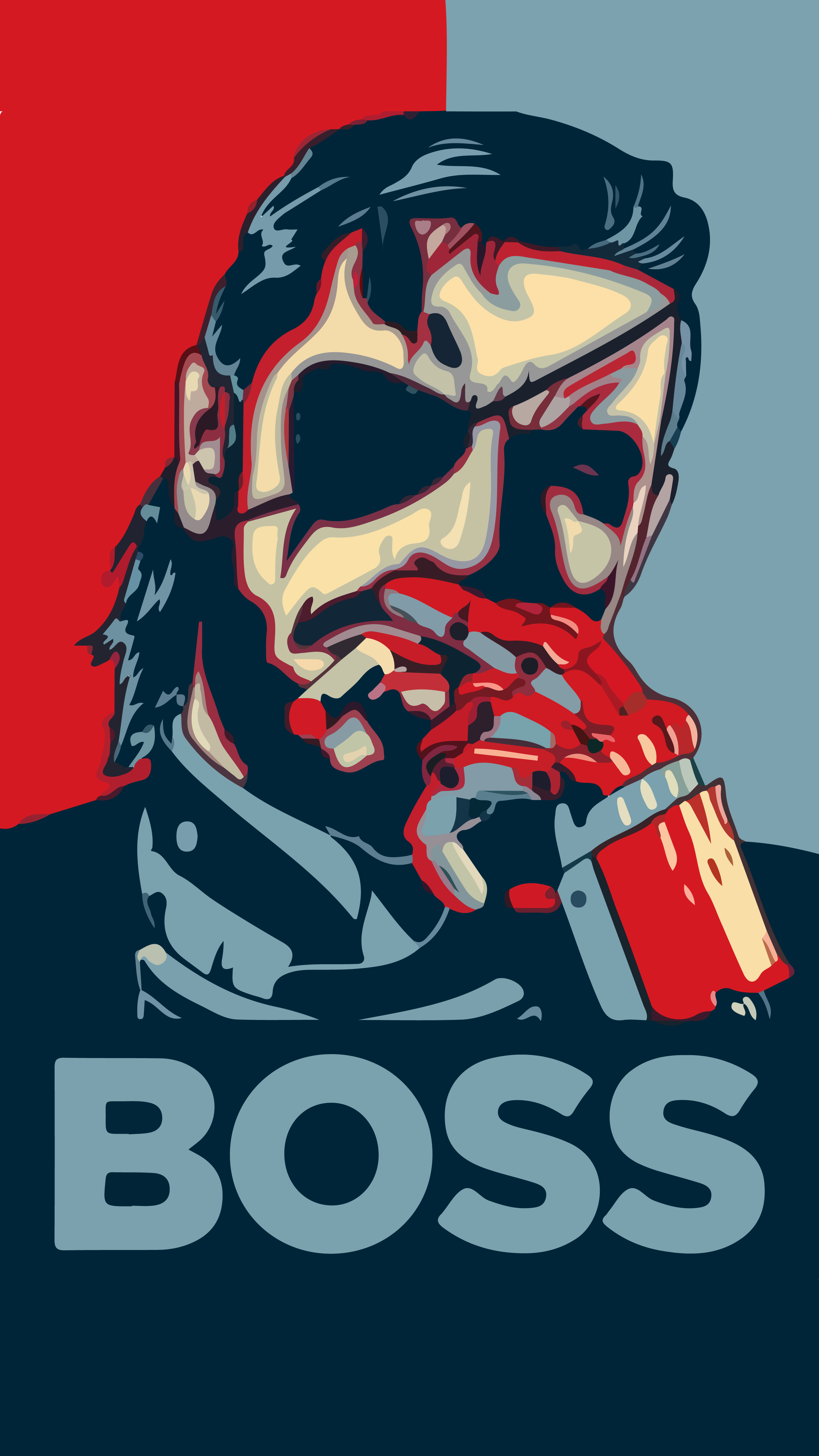 Boss I Just Edit That Pic To Make It A Wallpaper For Iphone 6 And 7 Metal Gear Metal Gear Series Metal Gear Solid