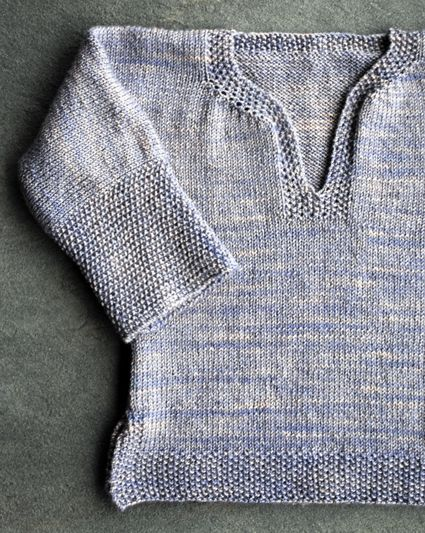 Easy Pullover for wee ones
