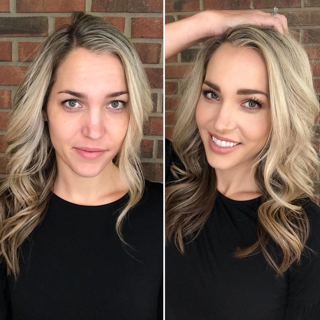 Makeup before and after. Maskcara Beauty. in 2020