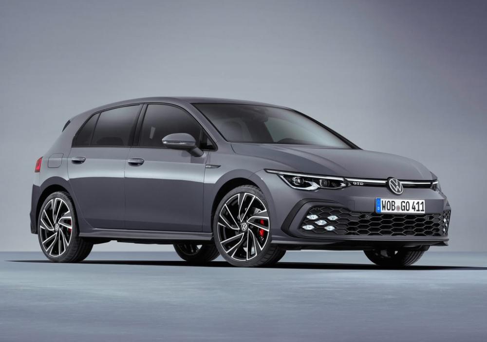2021 Yeni Kasa Volkswagen Golf 8 Gtd Vw Golf Gtd Golf8